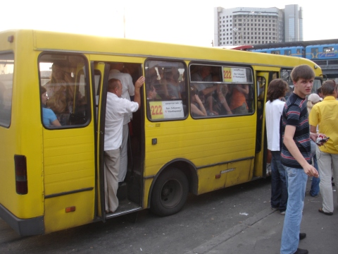 Marsjrutka - Kiev,Sommer07