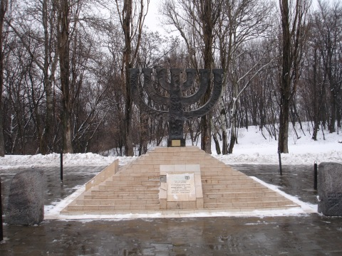 Det jødiske minnesmerket i BabiJar