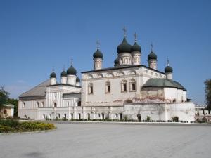 Inne i Kremlin i Astrakhan