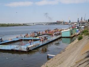 Russiske badere i Astrakhan