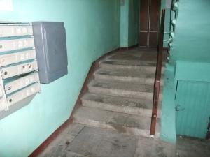 Oppgangen i leiligheten der jeg bor