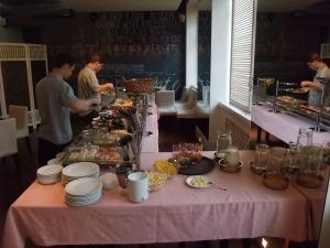 Frokost på hotellet Primorje