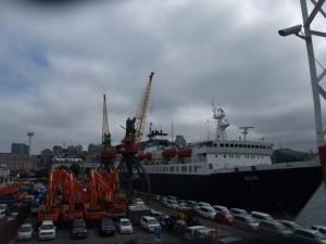 Havnen i Vladivostok