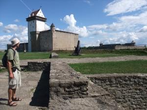 Slottet i Navra. Og jeg.