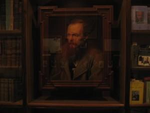 Fjodor Dosojevskij - Maleri fra Dostojevskij-museet i St. Petersburg