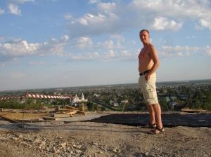Jeg ved festningsvollen, Tobolsk