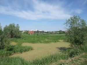 Gamlebyen i Tobolsk, med en karakteristisk grapsete russisk dam
