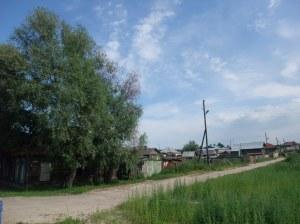 Typisk vei i gamlebyen, Tobolsk