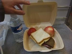 Frokosten på flyplassen
