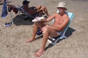 Niste på stranden