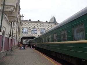 Stasjonen i Vladivostok