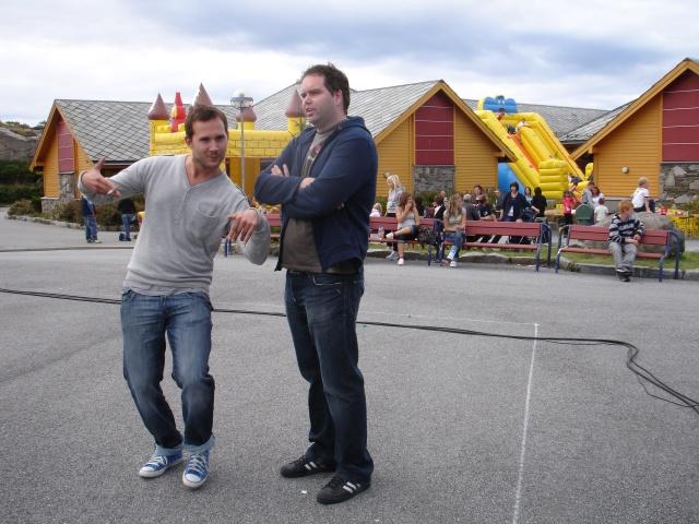 Morsomme komikere på festival i Øygarden
