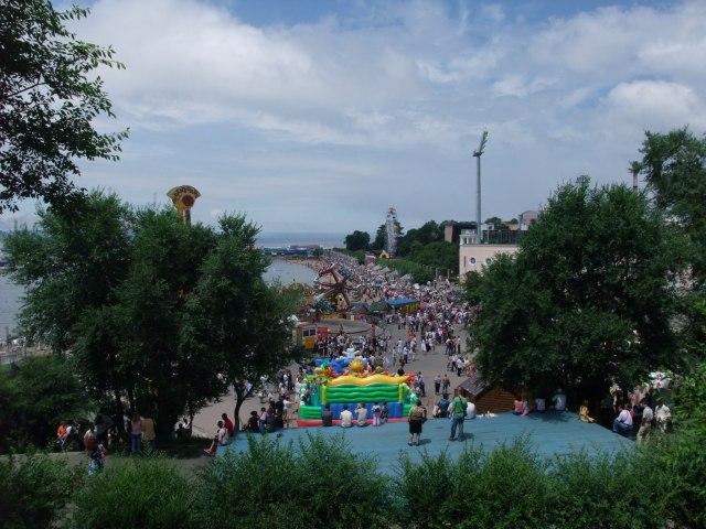 Folkefest i Vladivostok
