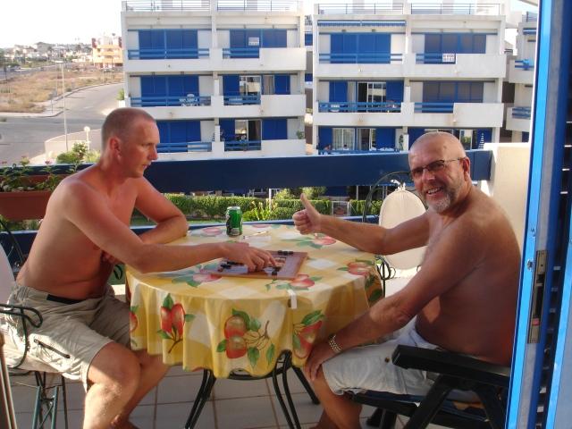 Far og jeg, Casa Salen i Spania, 2007