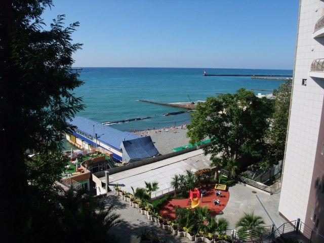 Utsikten fra Park hotell i Sotsji - ikke å forakte