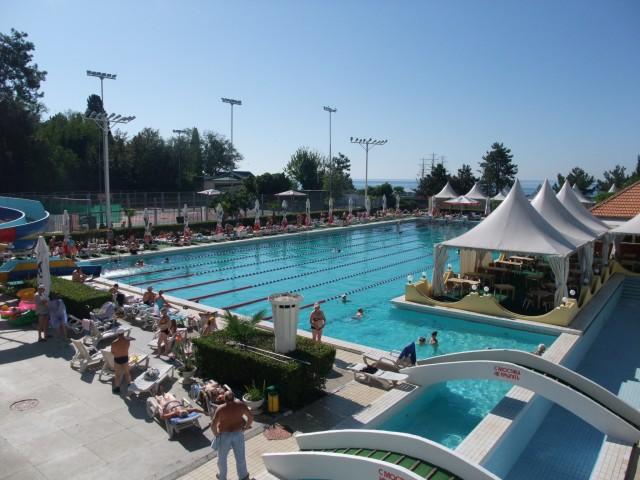 Badebassenget til hotellet, Sotsji, Russland