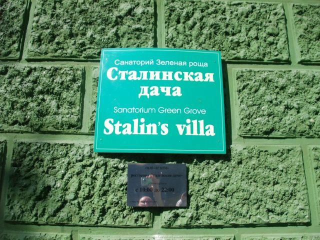 Velkommen til Stalins datsja