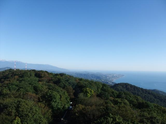 Utsikt mot Abkasia