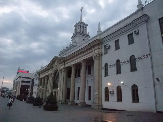 Stasjonen i Krasnodar, dit jeg skal komme