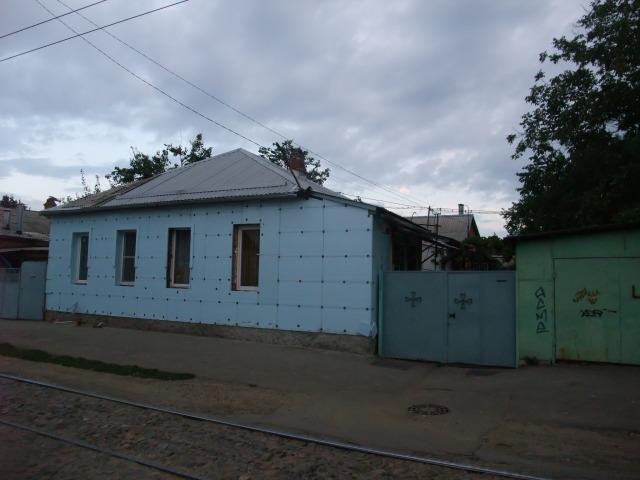 Litt av bebyggelsen i Krasnodar. Her bor folk.