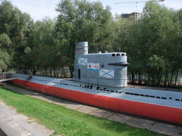 Ingen russisk park uten en ordentlig ubåt, som her i Krasnodar