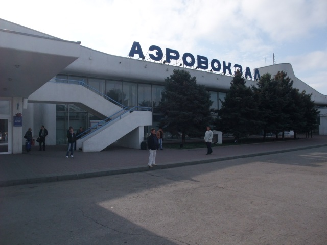 Flyplassen i Rostov, Russland