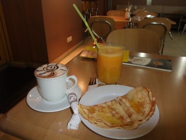 Frokosten min i St. Petersburg