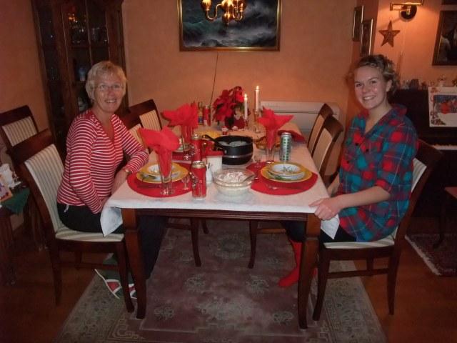 Mor og Tonje, Lille julaften 2008