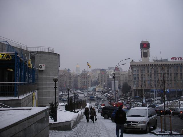 Kiev, der jeg bodde i fjor