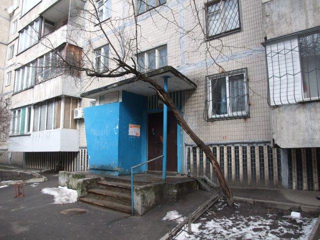 Dette er inngangen til leiligheten jeg bodde i natt til lørdag.