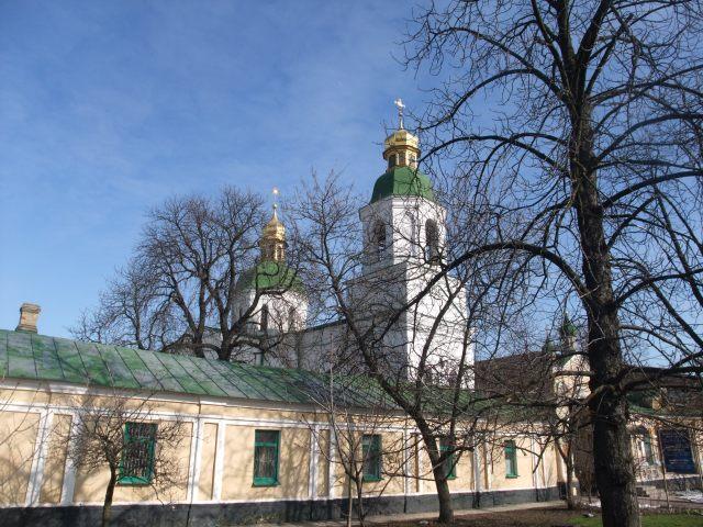 Slik kan de se ut, kirkene i Lavra, Kiev.