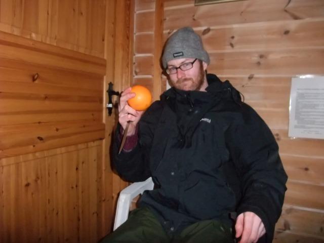 En velfortjent appelsin til slutt