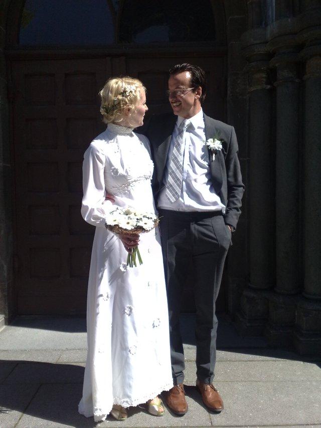 Brudeparet Ingrid og Pål