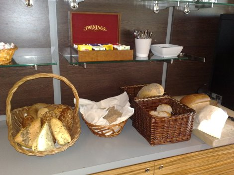 Og dette er det meget gode brødet og rundstykkene på Nova i Trondheim.