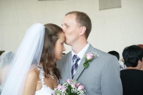 Man kan kysse bruden så ofte man vil