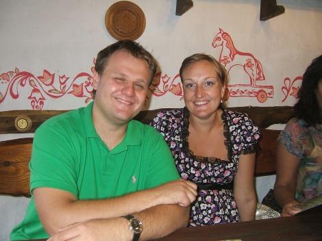 Fetter Dennis og søster Tanja