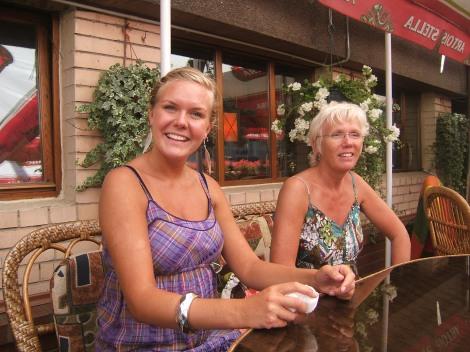 Tonje og mor, restaurant