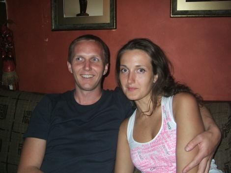 Olia og jeg