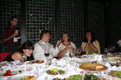 Natasja, Dennis, Tanja og mama Irina