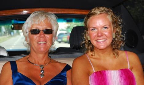 Mor og Tonje sommerfriske i limousin.