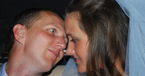 De har gjort noe i photo shop slik at jeg ser skikkelig forelsket ut.