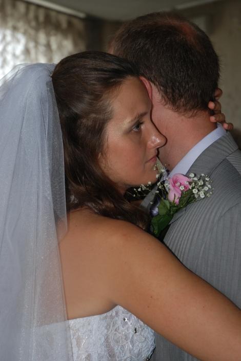 En alvorsstund før bryllupet. Var det noe mor sa, tro?