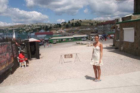 Olia på toppen, Aj-Petri, Krim