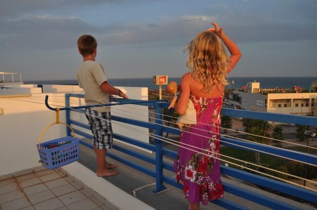 Leilighet i Spania, takterrasse