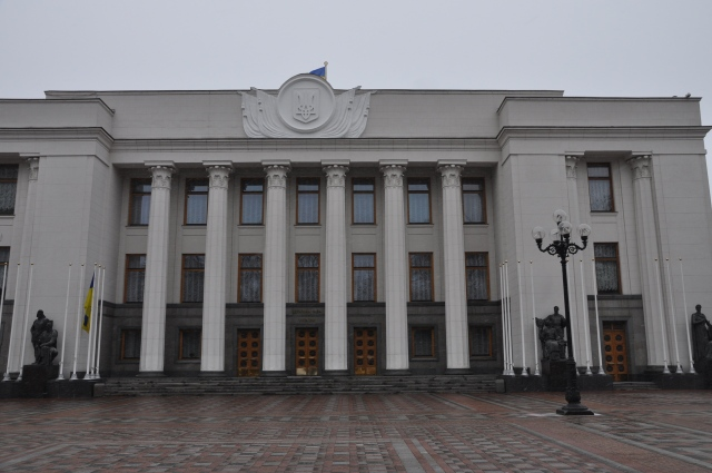 Kiev, Parlamentsbygning, Verkhovna rada, Mariinskij-parken, Nasjonalforsamling