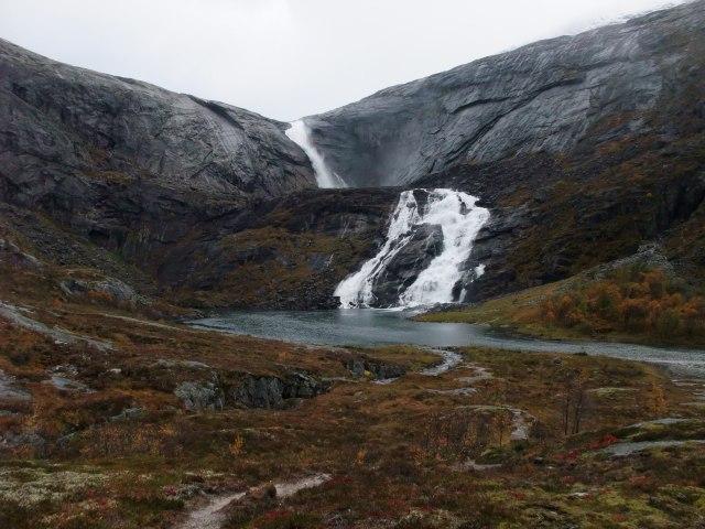 Kinso, Foss, Elv, Norsk landskap