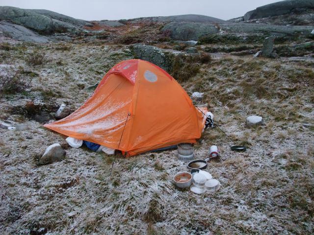 Telt, Fjelltelt, Hardangervidda