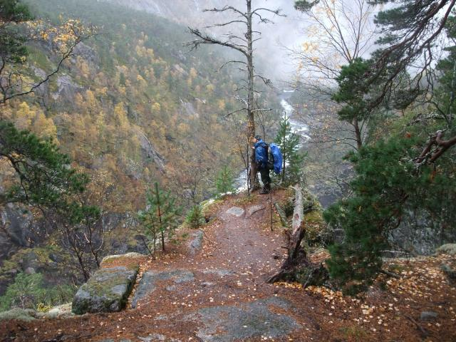 Utsikt fjellet, Kinso, Hardanger, Norsk natur