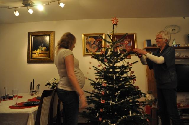 Jul, Juletrepynting, Juletrelys