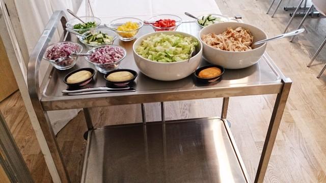 Kryddersmør, Salater, Rødløk
